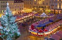 Spirito natalizio a Bratislava