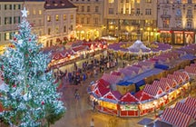 Christmas spirit in Bratislava