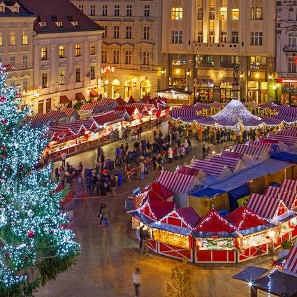 Kerstgeest in Bratislava