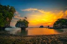 Zona de Krabi para viajeros experimentados