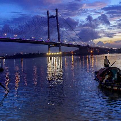 Savour a breath of fresh air at Prinsep Ghat in Kolkata