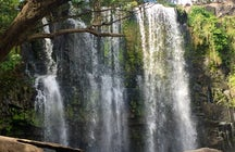 Llanos de Cortes waterfall near Bagaces