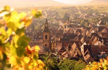 Beautiful villages in Eastern France