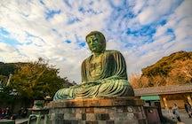 Kamakura: the Great Buddha, Zazen practice & money washing