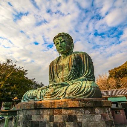 Kamakura : le Grand Bouddha, la pratique de Zazen et le lavage d'argent