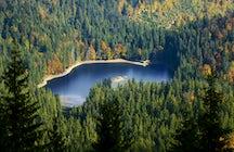 Visita el lago Synevir, en los Cárpatos ucranianos