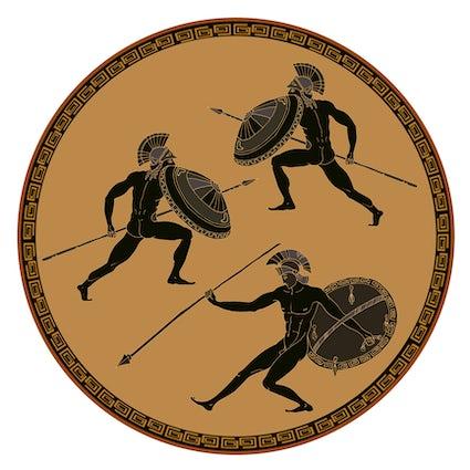 Een reis in de mythologie; Peloponnesos