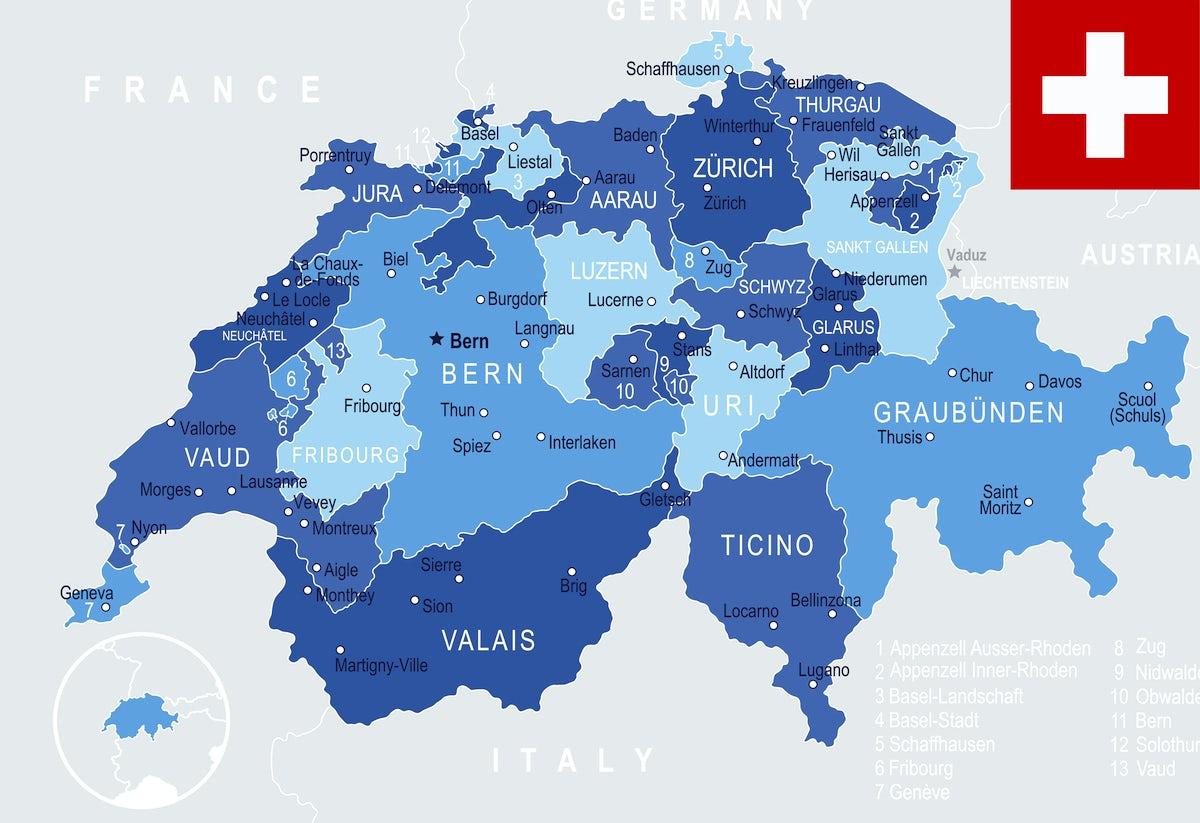 Röstigraben: a cultural border in Switzerland