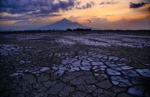 De modderige ramp: Sidoarjo modderstroom in Oost-Java