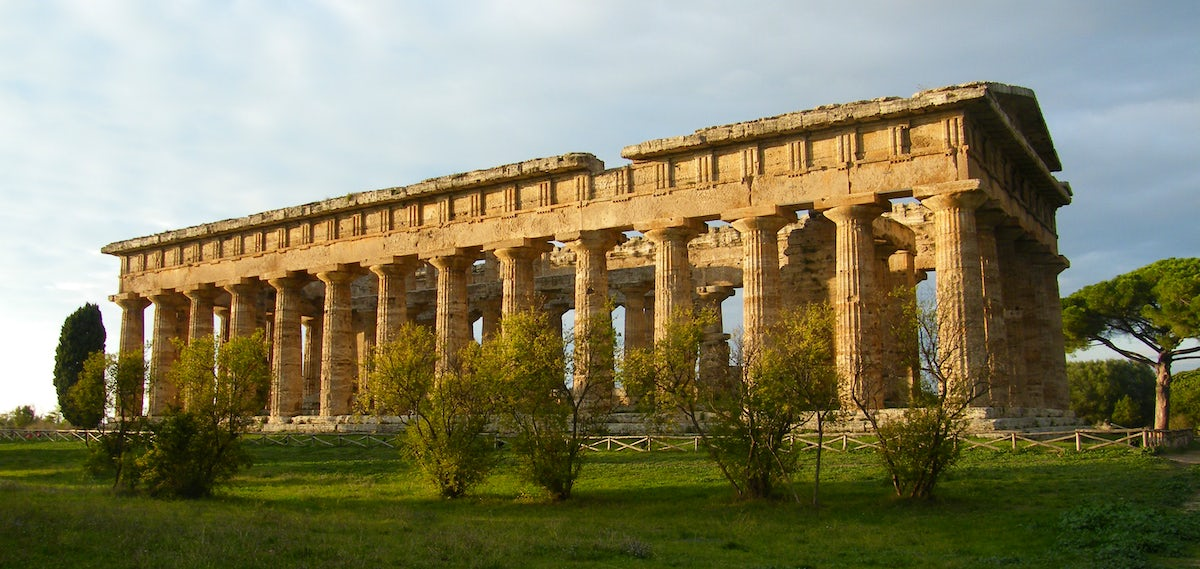 Come visit Paestum Archaeological Site