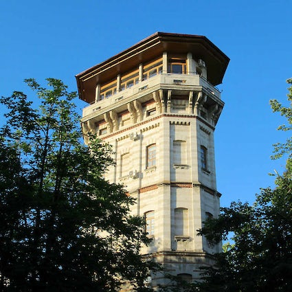 Watertoren - de eerste waterleverancier in Chisinau