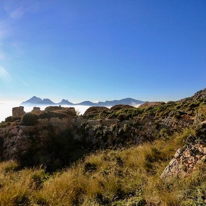 The incredible hike - Fort of Bernia