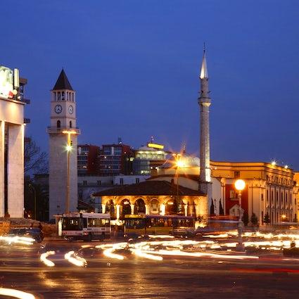 Se promener dans Tirana