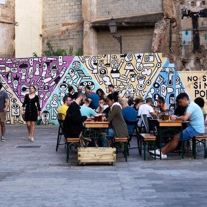 Arte urbano en El Carmen, Valencia