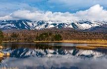 Eine unberührte Stätte des Naturerbes: Halbinsel Shiretoko, Hokkaido