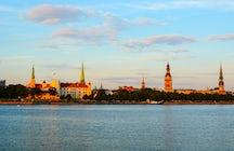 Kayaking in Riga