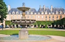Parks and gardens in Paris: Place des Vosges
