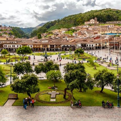 Cusco, de hoofdstad van het Inca Rijk