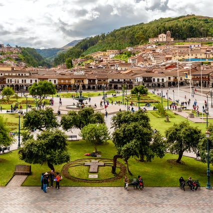 Cusco, the capital of the Inca Empire