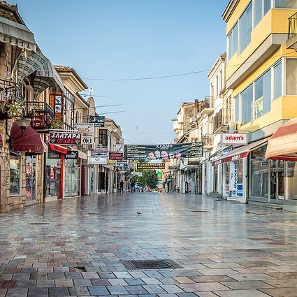The kaleidoscopic face of Ohrid