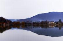 A majestic Lopota Lake Resort in Kakheti