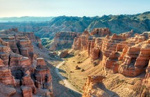 The land of stone castles - Charyn Canyon
