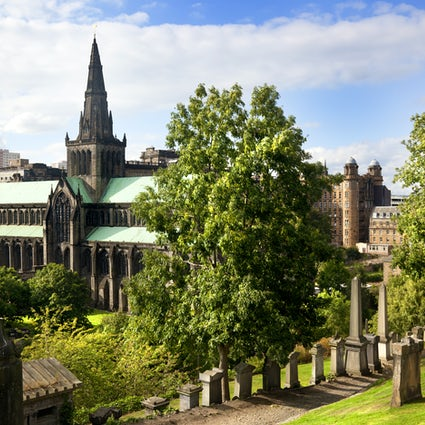 Glasgow, the dear green place of Scotland