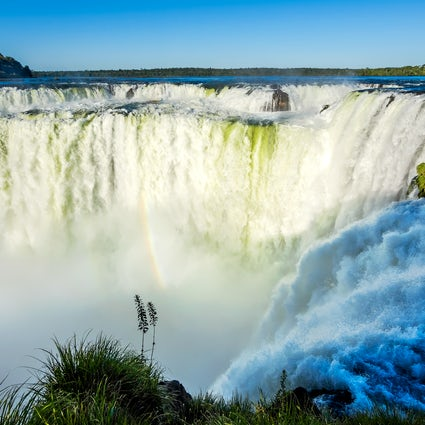 Feeling the immensity of the Iguazú Waterfalls, Argentina
