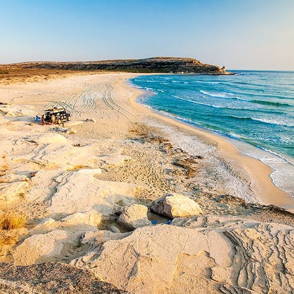 El paraíso escondido de Mangystau: la Bahía Azul