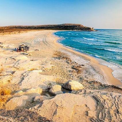 The hidden paradise of Mangystau: the Blue Bay