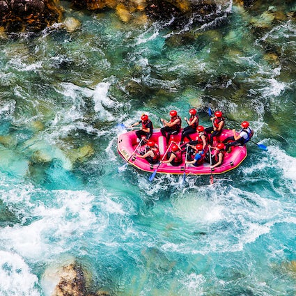 Top-notch rafting in Europe's deepest canyon