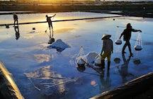 Salt of the earth in Hoi Khoi, Nha Trang