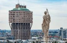 El horizonte de Milán: Torre Velasca