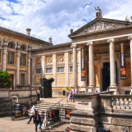 Oxford's finest museums; the Ashmolean Museum