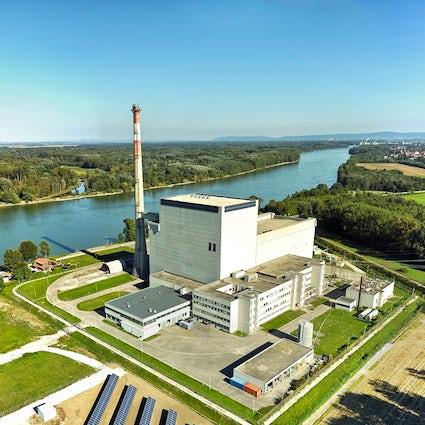 Zwentendorf si fa festa presso la centrale nucleare