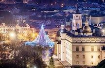 Mercados de Natal tradicionais e alternativos em Vilnius