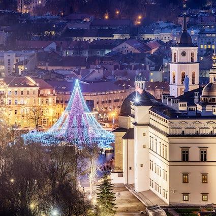 Mercados navideños tradicionales y alternativos en Vilnius