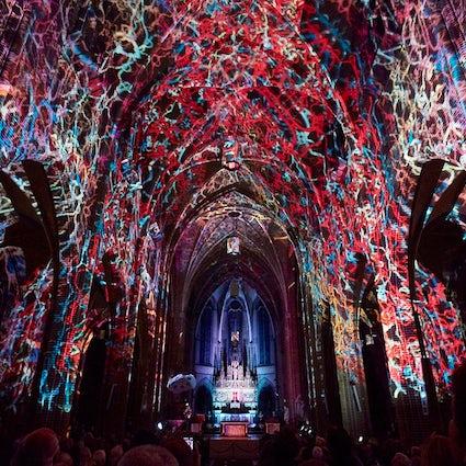 """Le """"Glow Festival"""" à Eindhoven"""