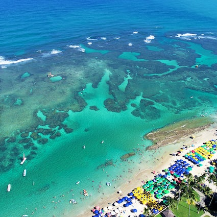 Porto de Galinhas, the best beach in Pernambuco