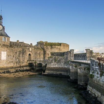 Concarneau - la ciudad azul de Bretaña