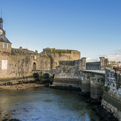 Concarneau – the blue city of Brittany