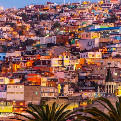 Valparaiso, a bohemian city by the coast