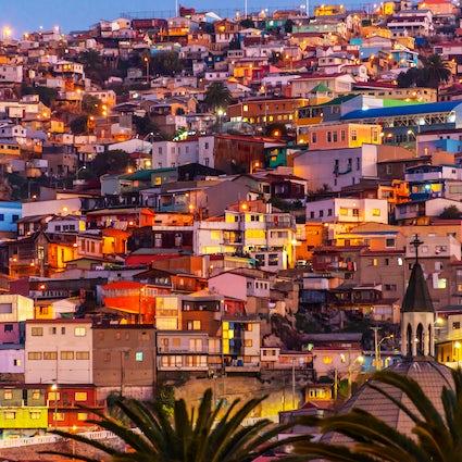 Valparaíso, una ciudad bohemia junto a la costa