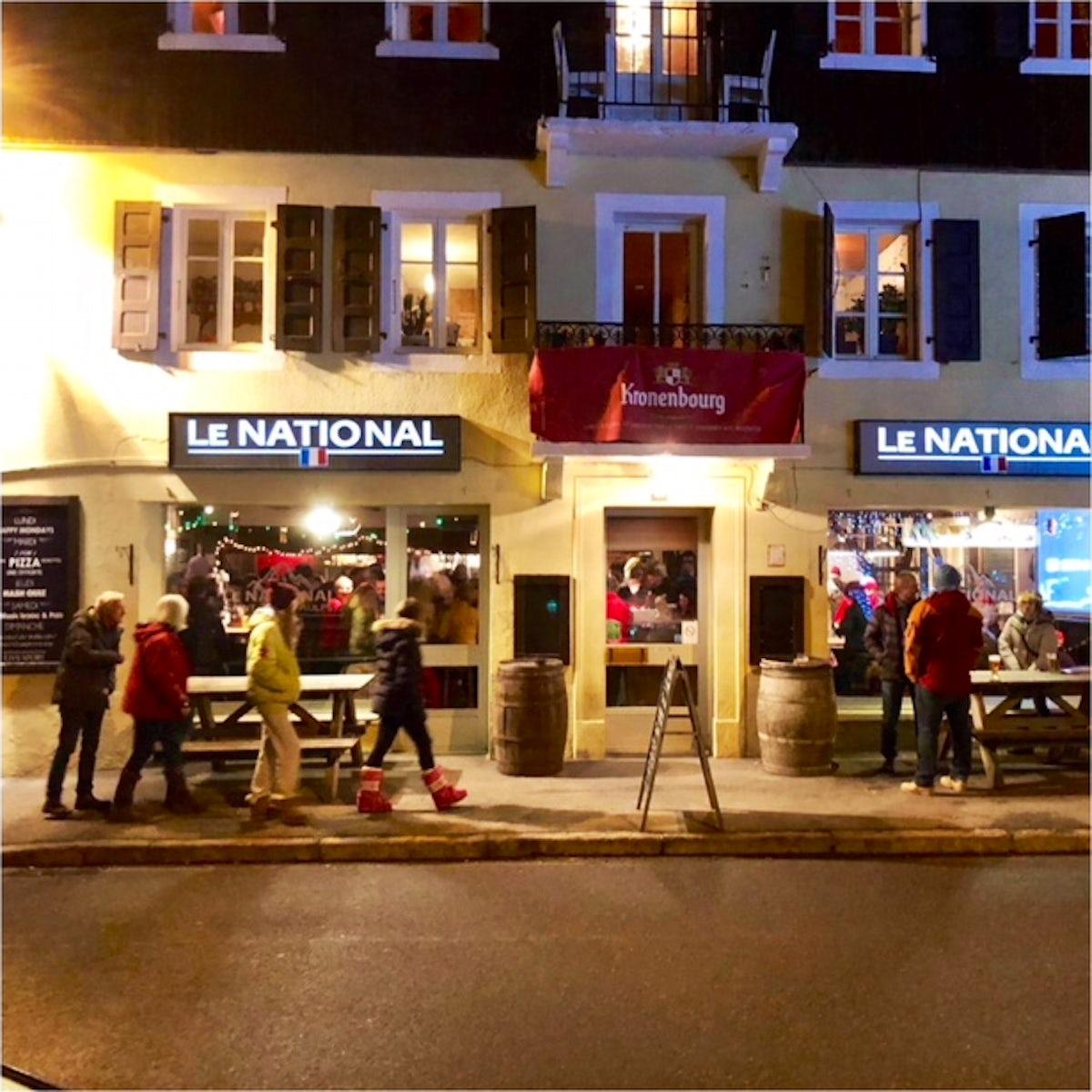 Le National - Favorite Pub around Morzine