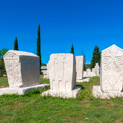 Unravelling the secrets of stećci - Bosnian medieval tombstones