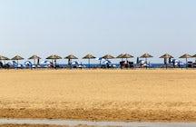 Piscinas Beach, zwischen Vergangenheit und Gegenwart
