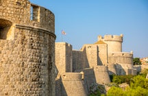 Unconquered wall of Dubrovnik and its western forts