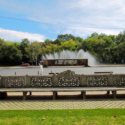 Een ballade tot leven gewekt - Miorița fontein Boekarest