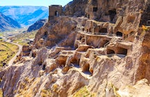 Vardzia, a beautiful cave town