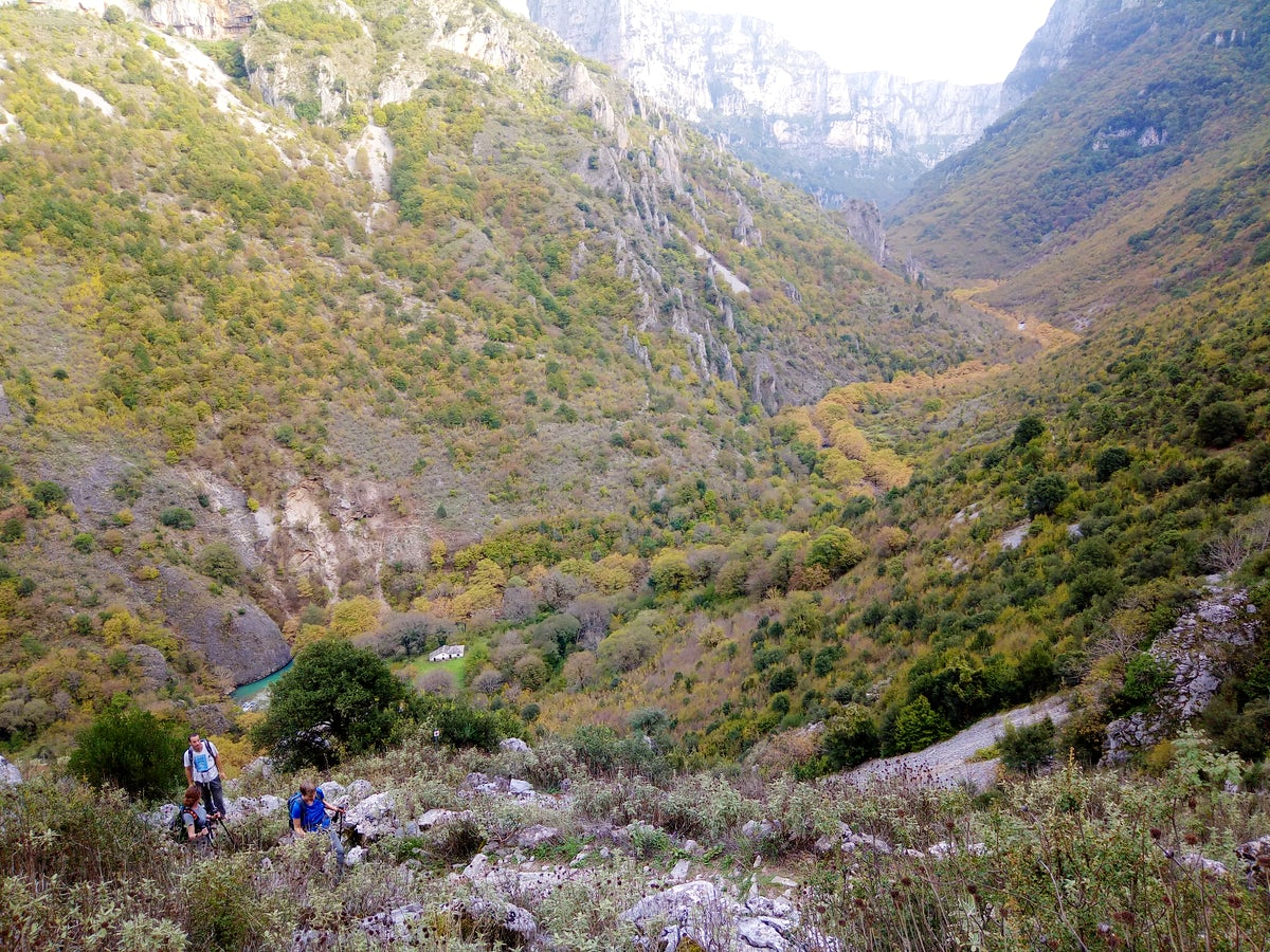 Greek Adventure Project; Zagori Hiking Experience